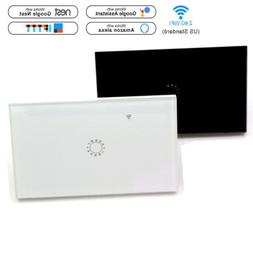 WIFI Smart Wall Light Touch Switch App Timer Support Alexa G