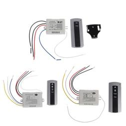 Wireless 3CH Way ON/OFF Lamp Remote Control Switch Receiver
