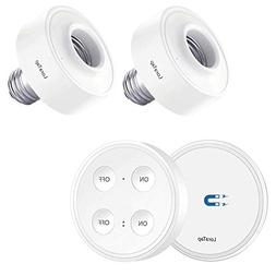 LoraTap Wireless Remote Control E26 E27 Light Socket Kit 656