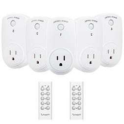 Magicfly Wireless Remote Control Electrical Outlet Switch wi