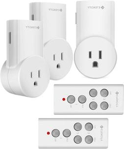 Etekcity Upgraded Wireless Remote Control Electrical Outlet