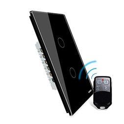 LIVOLO Wireless Remote Control Light Switches with Tempered