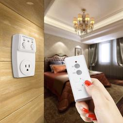Wireless Remote Control Outlet Switch Power 110V US Plug In