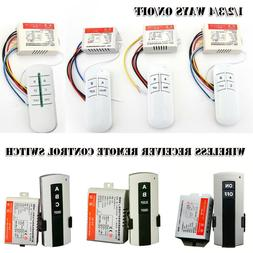 wireless transmitter remote control light switch bulb