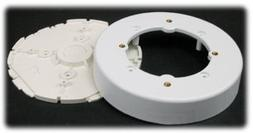 wiring system circular fixture white