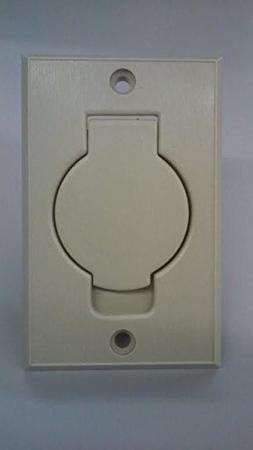 yan_Central Vacuum Wall Inlet for Beam Nutone Cover IVORY Ro